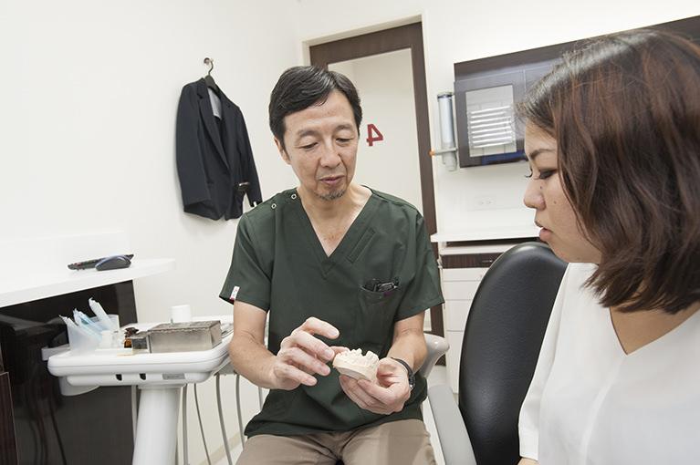 今までの歯周病治療に不満を感じている患者様へ
